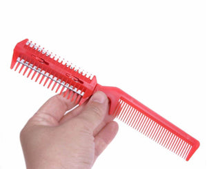 Sharp Razor Hair Comb 2-in-1
