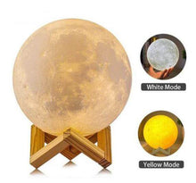 Charger l'image dans la galerie, Rechargeable Mystical Moon Lamp