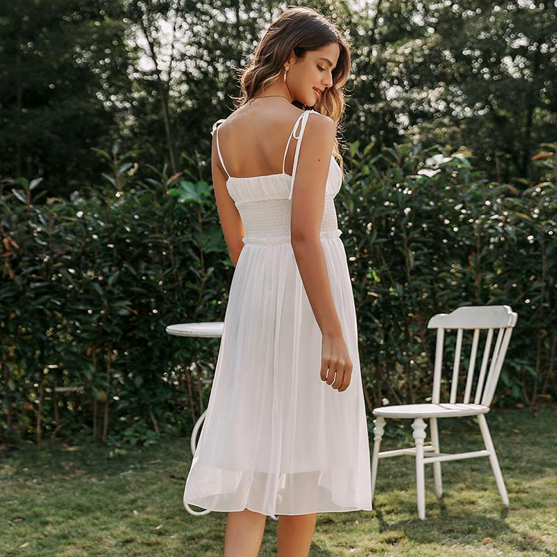 Robe Blanche Simple Bohème