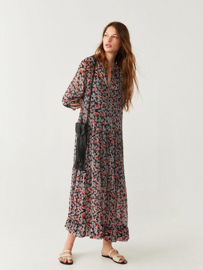 Robe boho chic paris luxe