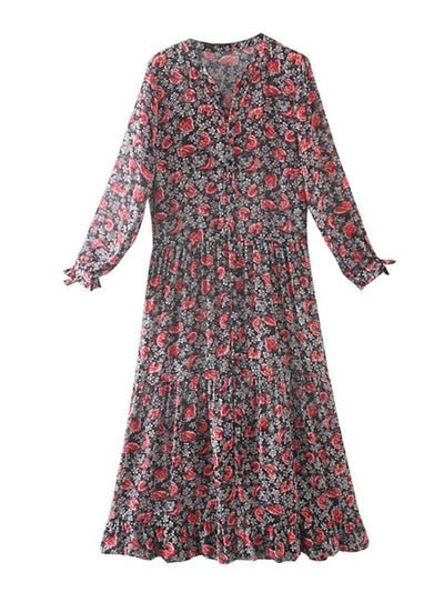 Robe boho chic paris Charmante