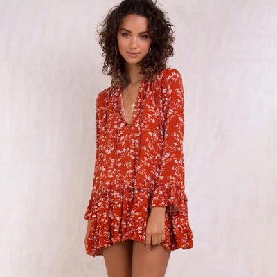 Robe style boheme chic suisse Belle
