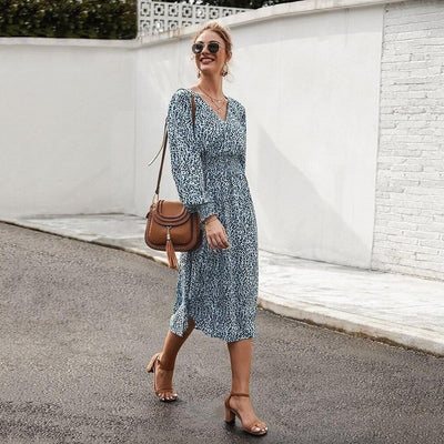 Robe style hippie chic manche longue pas cher