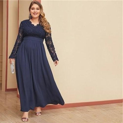Robe style hippie grande taille Charmante