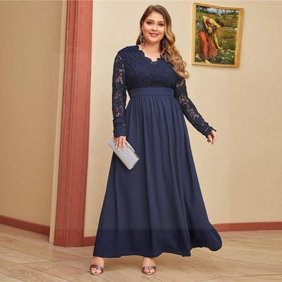 Robe style hippie grande taille pas cher