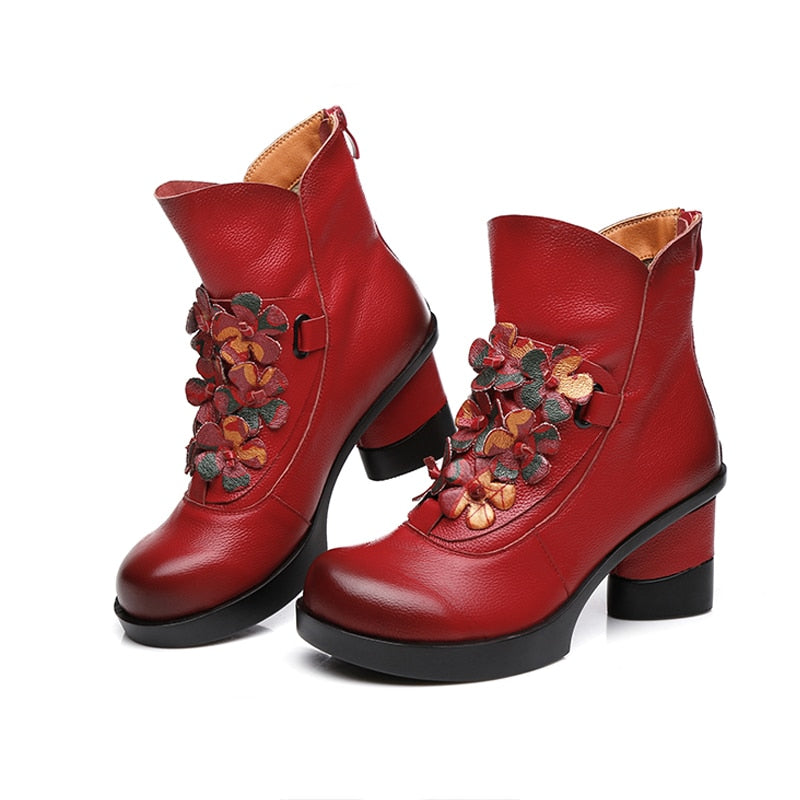 Bottines Bourgeois Bohème