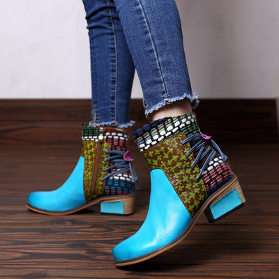 Bottines Hippie Bohème