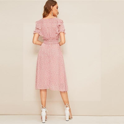 Robe boheme rose pale avis