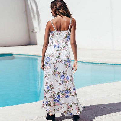 Robe cocktail hippie chic tendance