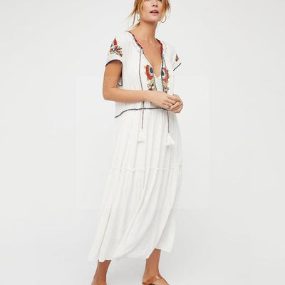 Robe hippie chic longue style
