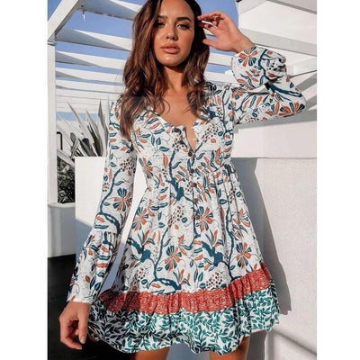 Robe hippie chic nantes Charmante