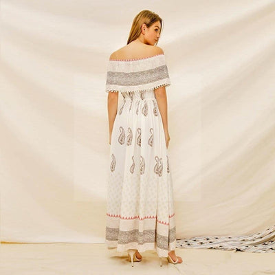 Robe longue ete hippie chic star