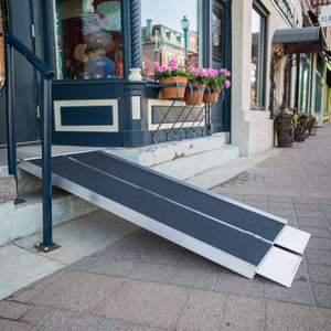 EZ-ACCESS Suitcase Single Fold Ramp (Available in 2 to 6 Feet)