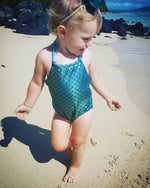 Load image into Gallery viewer, Baby Girls Arielle Swimsuit