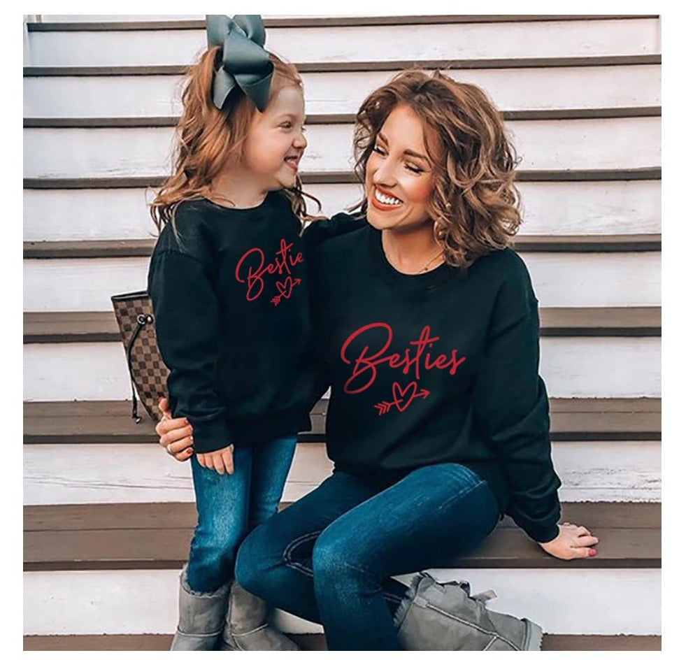 Mother Daughter Besties Sweatshirts