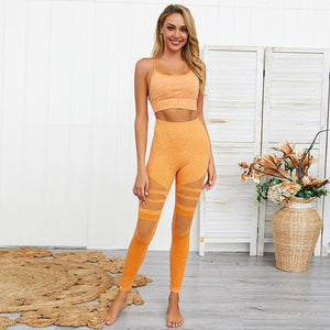 Spaghetti Crop Gym Set