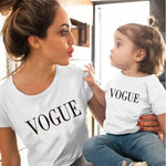 "Load image into Gallery viewer, Matching ""VOGUE"" T-Shirts"