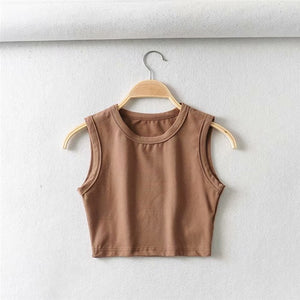 HYPE Sleeveless Crop Top