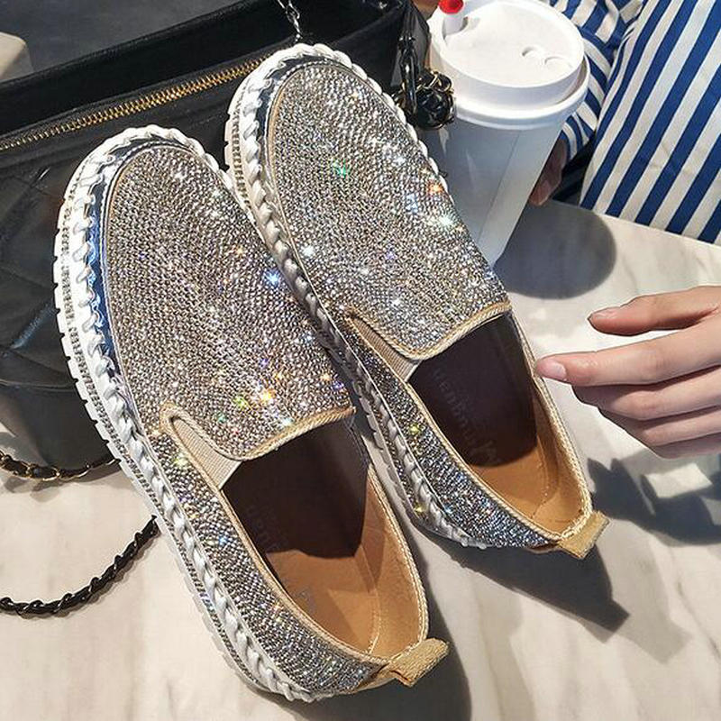 Crystal Creepers Loafers
