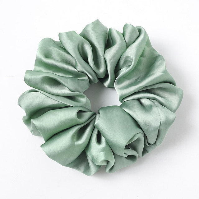 Oversized Satin Scrunchies