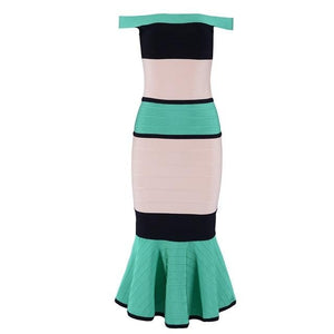 Mermaid Bandage Dress