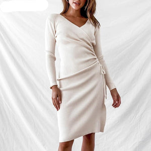 Elegant Sweater Dress