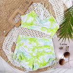 Load image into Gallery viewer, Rainbow Shorts Swim Set