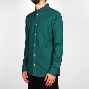 Load image into Gallery viewer, Shirt Varberg Oxford Evergreen