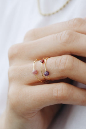 Load image into Gallery viewer, Birthstone Rings January - December