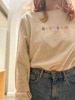 Blossom Embroidery Sweatshirt
