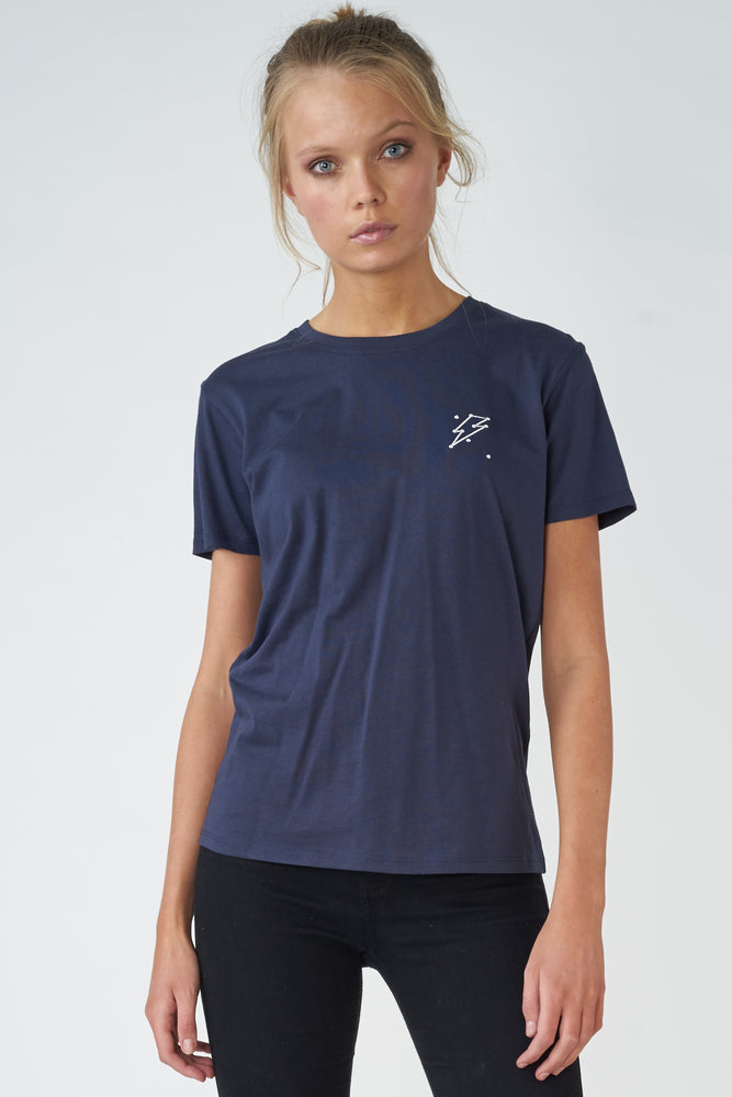 Lightning Constellation Embroidery Tee