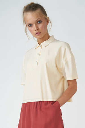 Load image into Gallery viewer, Boxy Polo Shirt