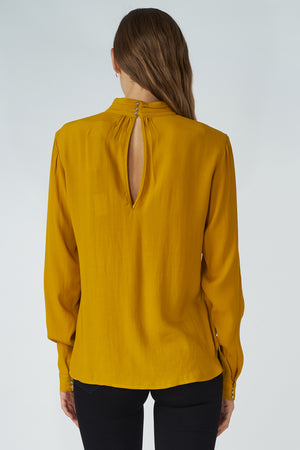 Viscose Collar Blouse