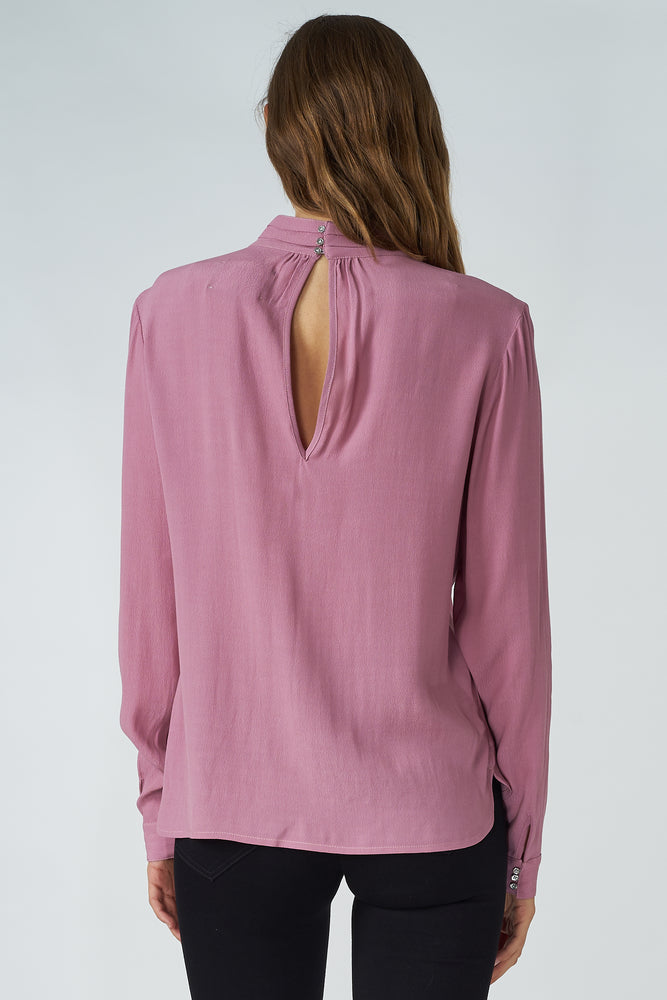 Load image into Gallery viewer, Viscose Collar Blouse
