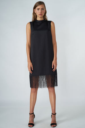 Load image into Gallery viewer, Fringe Midi Dress