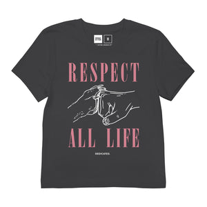 Load image into Gallery viewer, T-shirt Mysen Respect all Life