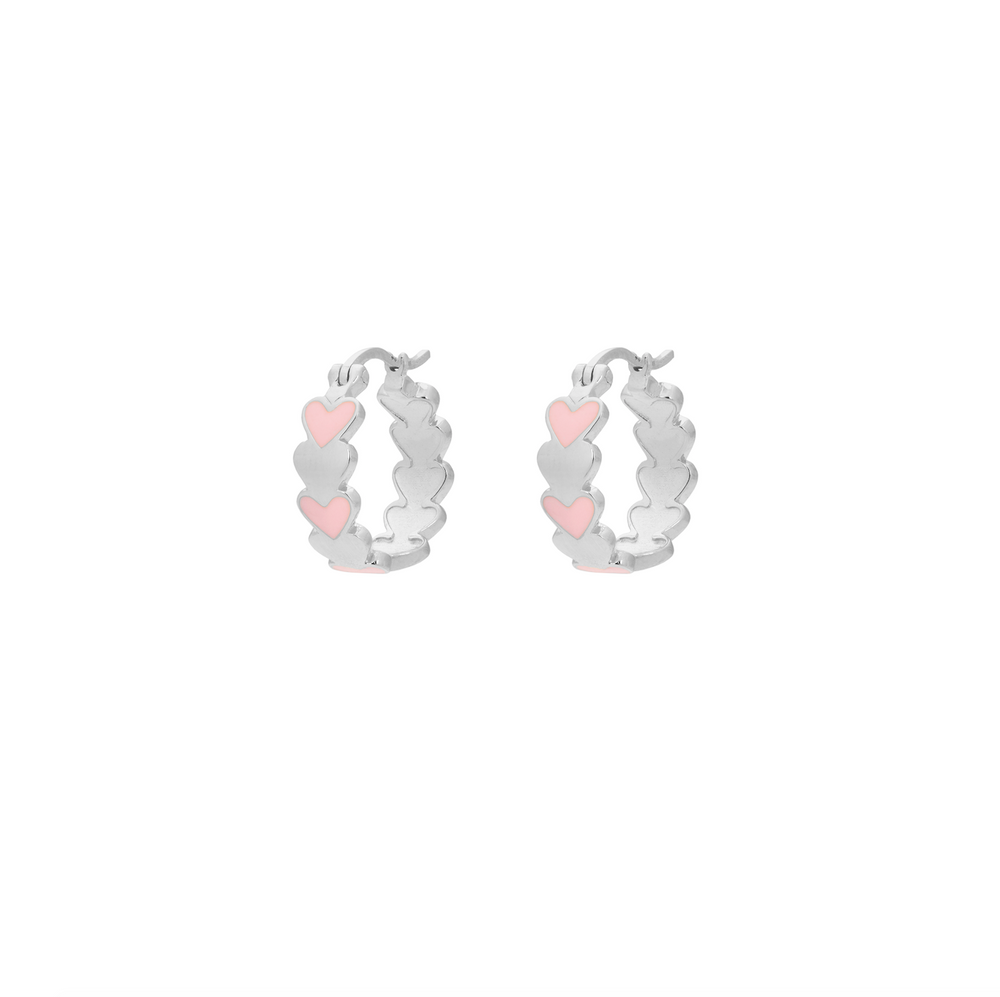 Amor Coloured Ring Earrings