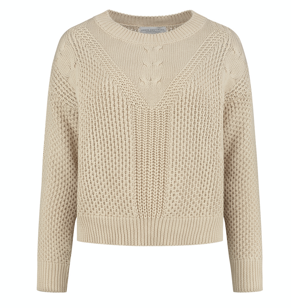 Product photo of the Mila Sweater by Amaya Amsterdam.