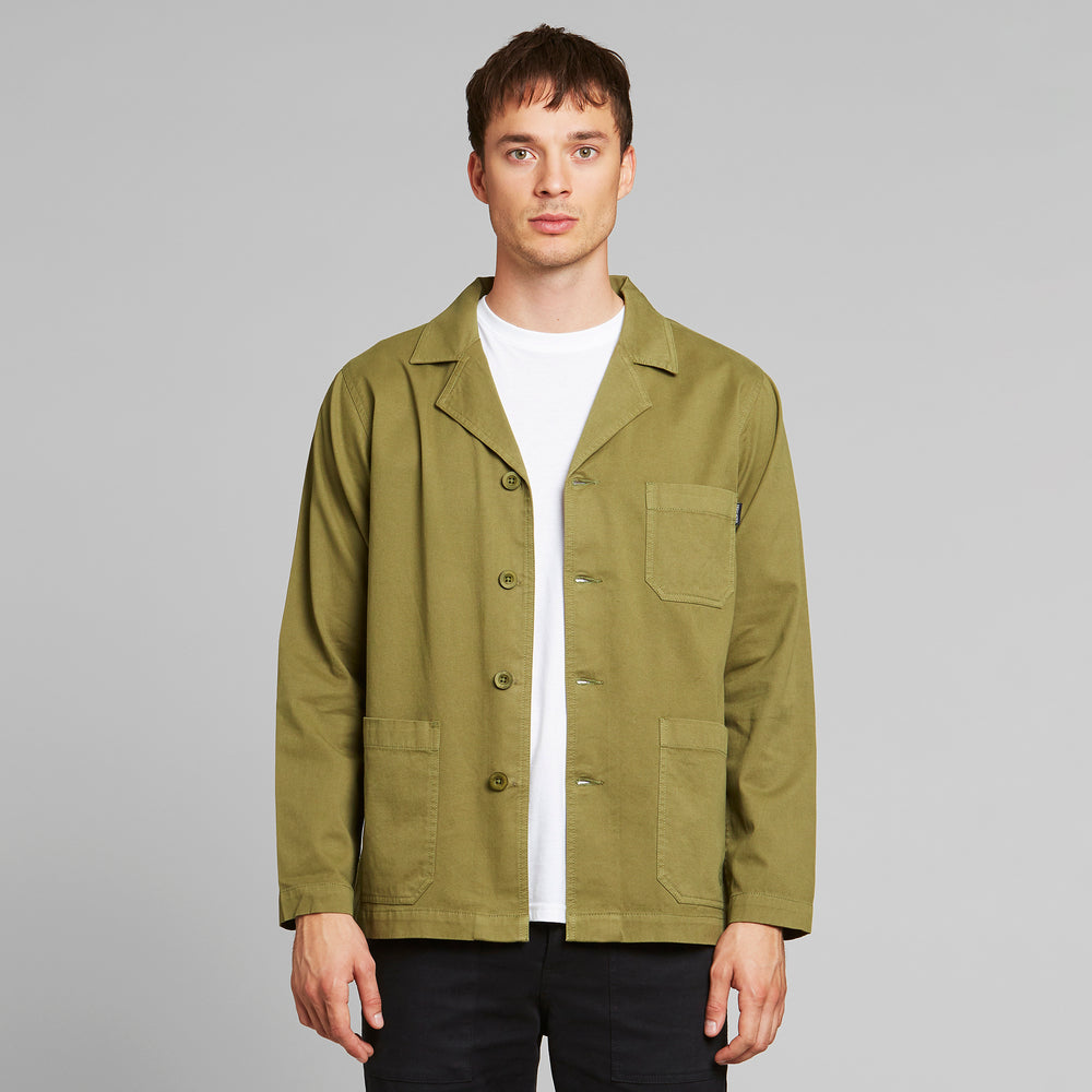 Load image into Gallery viewer, Product Photo of a Man wearing the Leksand Jacket by Dedicated.
