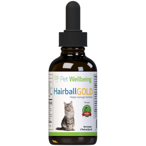 Hairball Gold for Cats helps your cat pass hairballs without vomiting
