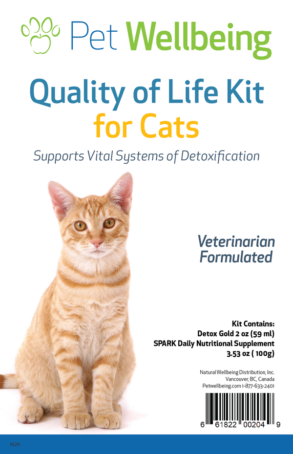 Quality of Life Kit - Gentle Detox & Optimal Nutrients for Cats