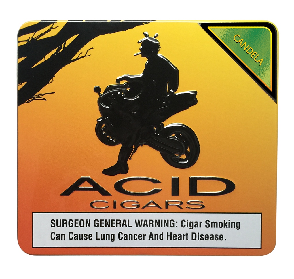 Acid Krush Green Candela Tin