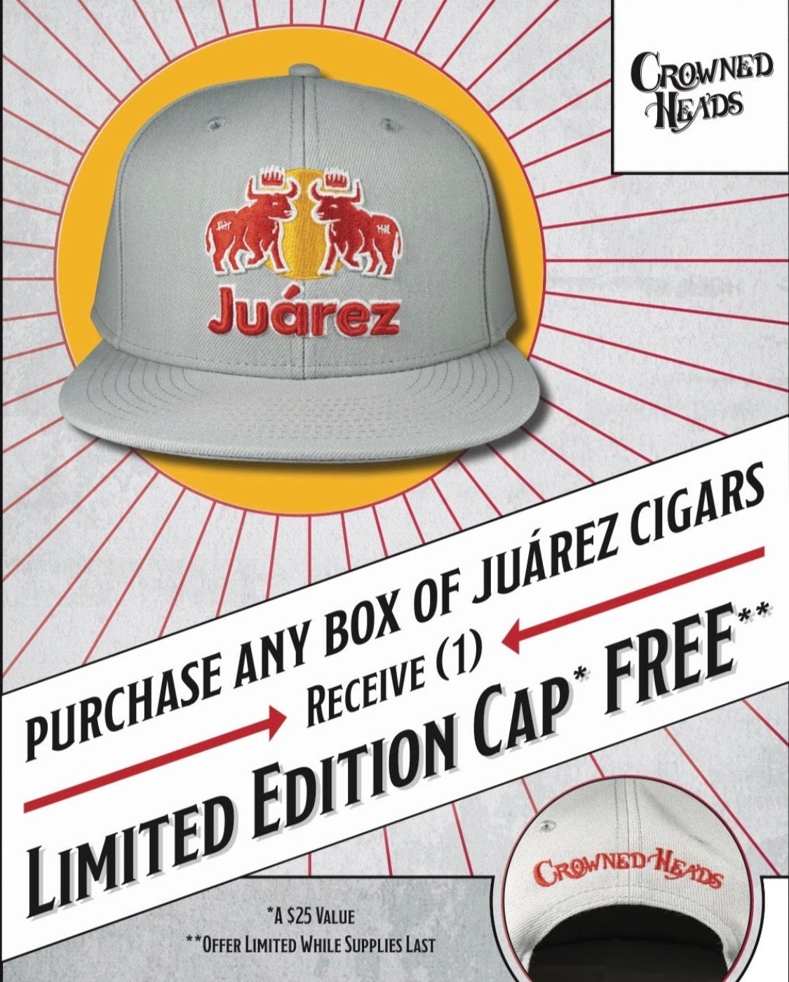 Crowned Heads - Juarez Limited Edition Hat