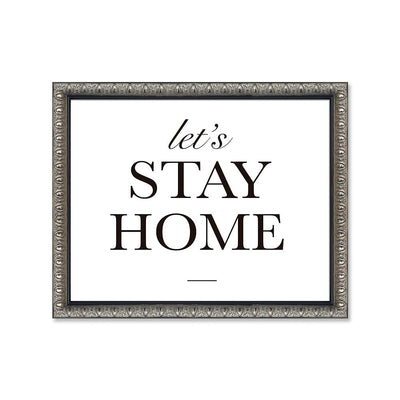 Let´s stay home