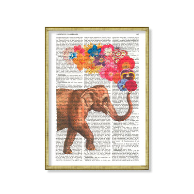 Enciclopedia elefante color