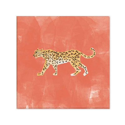 Tigre coral canvas
