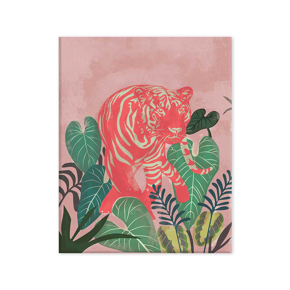 Tigre selva canvas