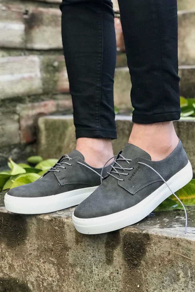 Men's Lace-up Anthracite Shoes