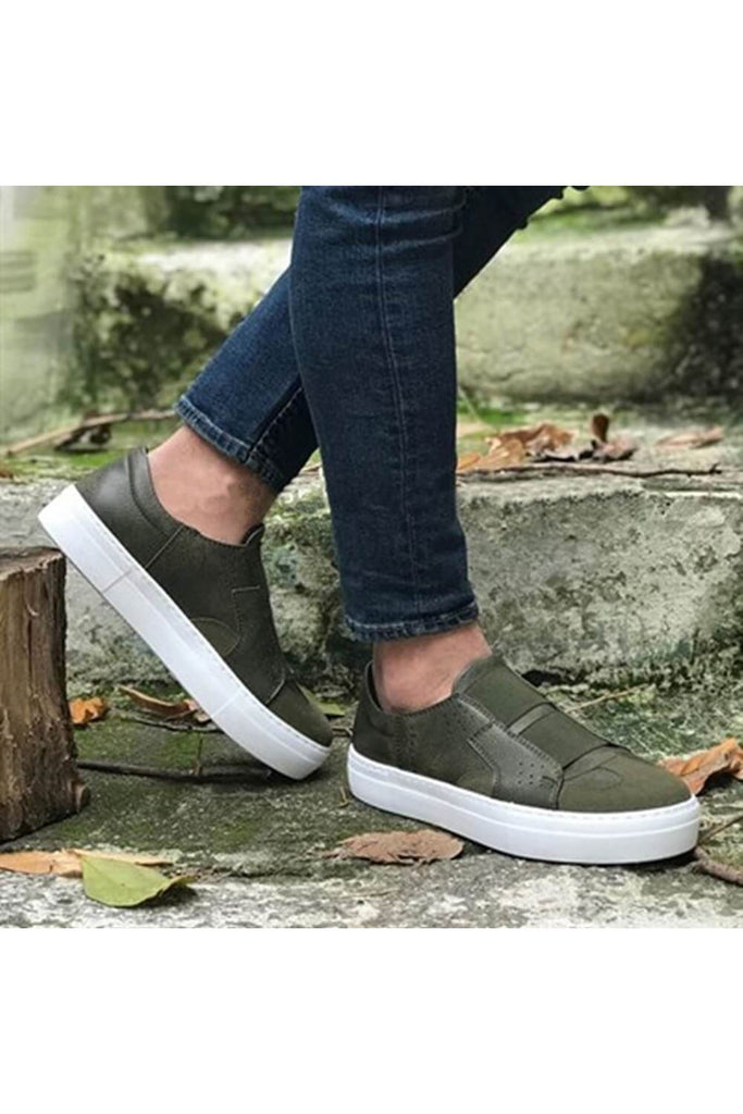 Men's Casual Khaki Shoes