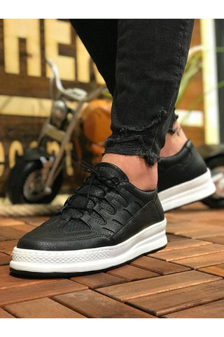 Image of Men's Black Casual Shoes